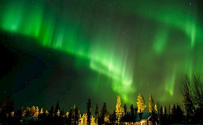 Northern Lights in Lapland, Finland. Flickr:Heikki Holstila