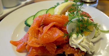 Salmon is very fresh in Finland! Flickr:junseita