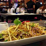 Crispy Catfish and Mango Salad in Thailand. Flickr:John Ong