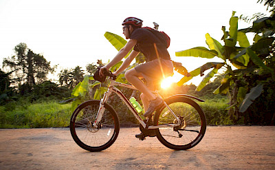 Cycling the Thailand Bike Tour.