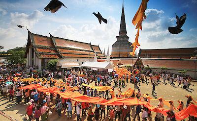 Festival in southern Thailand. CC:KOSIN SUKHUM