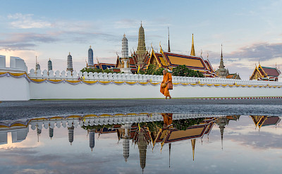 Temple of the Emerald Buddha in Bangkok, Thailand. Creative Commons:NawitScience