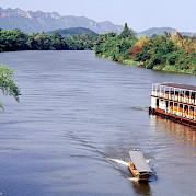Lovely river cruising | Thailand Bike & Boat