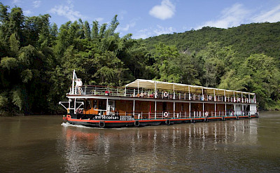 Two decks | River Kwai - Thailand Bike & Boat