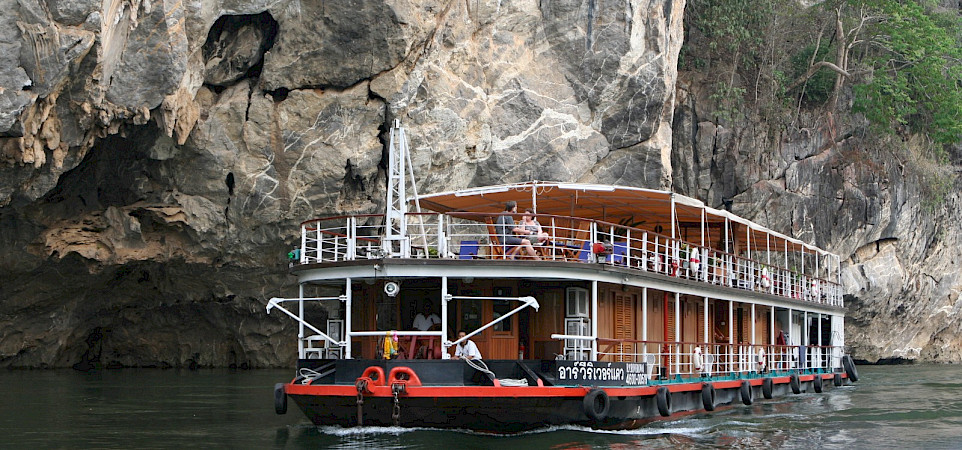 MV River Kwai - Thailand Bike & Boat Tour