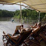 Upper Deck | MV River Kwai - Thailand Bike & Boat Tour