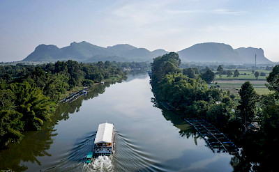 Navigating the River Kwai | Thailand Bike & Boat Tour