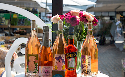 Rosé Wine to try perhaps in Denmar. Flickr:Susanne Nilsson