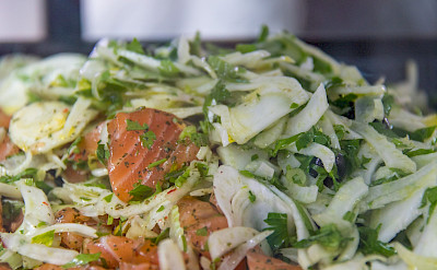 Salmon Salad in Denmark. Flickr:Susanne Nilsson