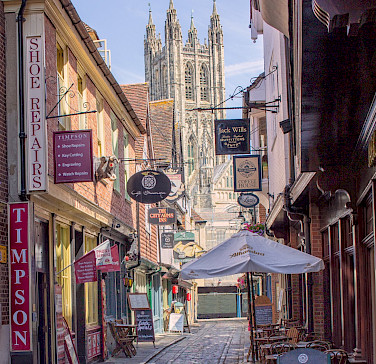 Butchery Lane in Canterbury, England. Flickr:Ray in Manila