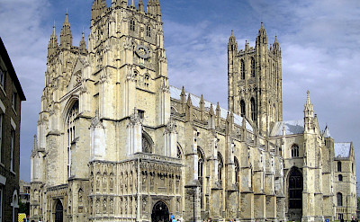 Canterbury Cathedral is a UNESCO World Heritage Site in England. Creative Commons:Hans Musil