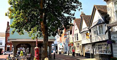 Bike rest in Faversham, England. Flickr:Herry Lawford