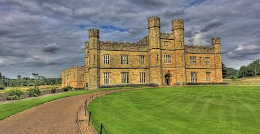 Gorgeous gardens at Leeds Castle in Kent, England. Flickr:Martin Bauer