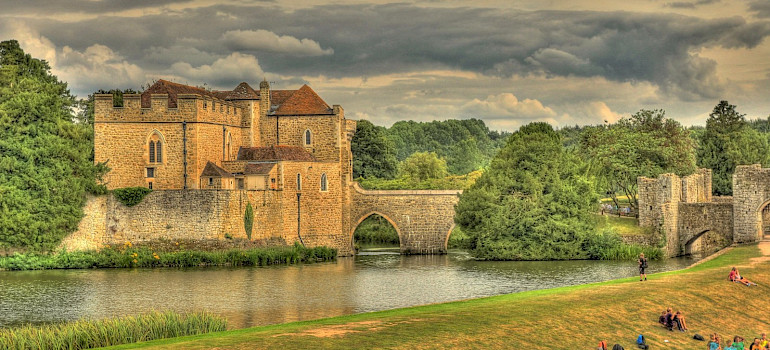 Leeds Castle in Kent, England. Flickr:Martin Bauer