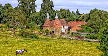 An Oast House in Kent, England. Flickr:Ray in Manila
