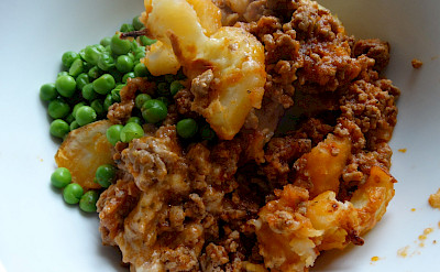 Shepherd's Pie is a traditional favorite in England. Flickr:Barry W*******