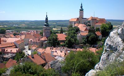Castle in Mikulov, Czech Republic. Creative Commons:Romanm82