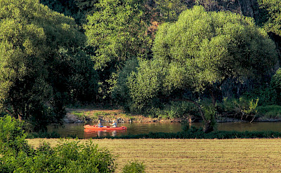 Canoeing on Sázava River near Prague, Czech Republic. Flickr:Jan Fidler