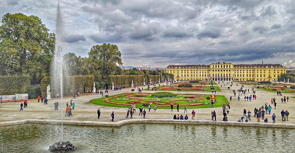 Schonbrunn Palace in Vienna, Austria. Flickr:rchelseth
