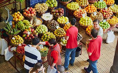 Market on Madeira Island, Portugal. ©TO