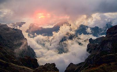 Mountain Ridge on Madeira Island, Portugal. ©TO