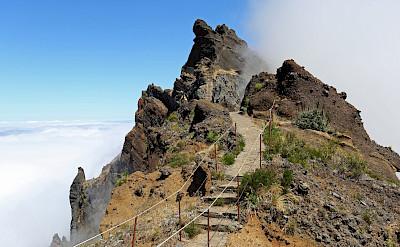 Hiking Pico Ruivo-Pico Arrieiro, Madeira Island, Portugal. ©TO