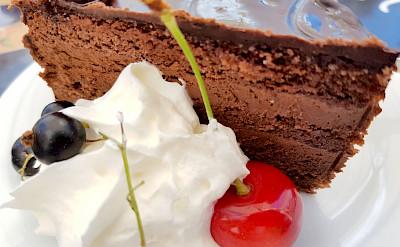 Chocolate desserts in Bohemia Czech Republic. Flickr:Herbert Frank
