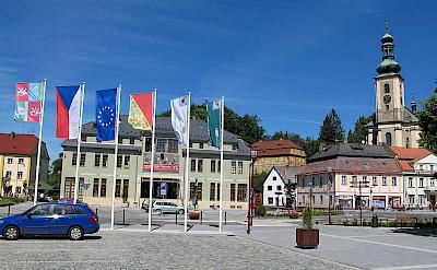 Krásná Lípa, Czech Republic. Creative Commons:Huhulenik