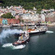 Fjordsteam 2018 in Bergen, Norway. Creative Commons:Tore Saetre
