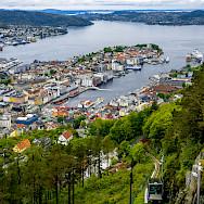 Overlooking Bergen, Norway. Flickr:dconvertini