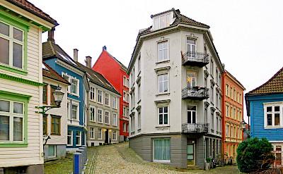 Quiet streets in Bergen, Norway. Creative Commons:Odd Roar Aalborg