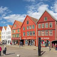 Bryggen is a UNESCO World Heritage Site in Bregen, Norway. Creative Commons:Diego Delso