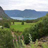 Down to Solvorn, Norway. Photo via TO