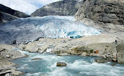 Glacier Hiking in Jostedalsbreen, Norway. Flickr:Karen Blaha
