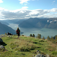 Hiking beautiful Molden in Norway. Flickr:Sognogfjordane