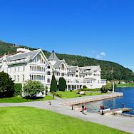Hotel Kvikne in Balestrand, Norway. Photo via TO