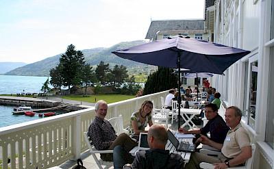 Hotel Kvikne in Balestrand, Norway. Flickr:Guttornflatabo