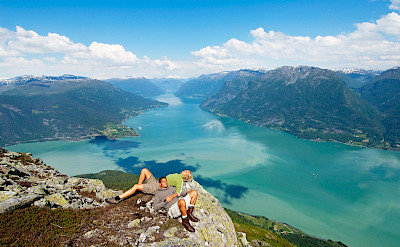 Lusterfjorden in Norway. Photo via TO