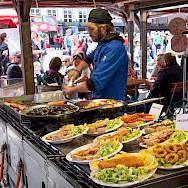 Fresh seafood in Bergen, Norway. Flickr:Martyn Smith