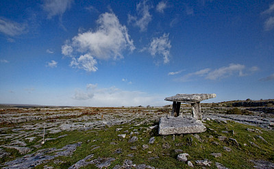 Dolmen in Burren, Ireland. Photo via TO