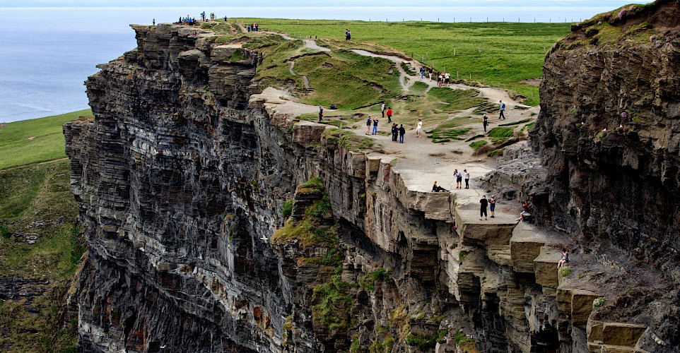 Cliffs of Moher in County Clare, Ireland. Flickr:David Lee