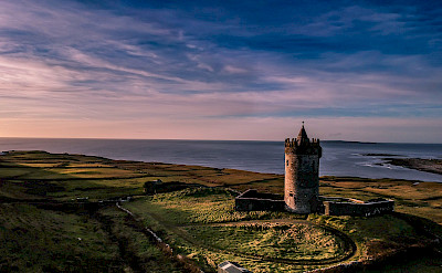 Doonagor Castle in Doolin, Co Clare, Ireland. Flickr:Sean Oriordan