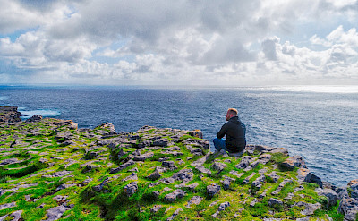 The largest of the Aran Islands is Inishmore (or Inis Mór). Flickr:David Goehring
