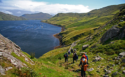 Hiking Killary Harbour in Connemara. Photo via TO