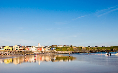 Seaside resort of Lahinch on Liscannor Bay in County Clare, Ireland. Flickr:froshea