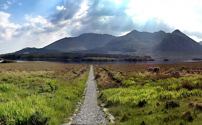 Lough Inagh in County Galway, Ireland. Flickr:IrishFireside