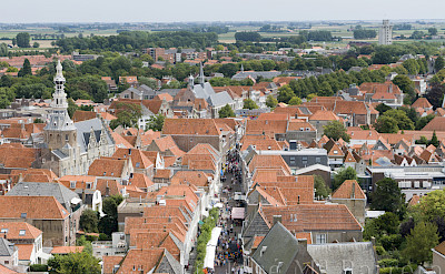 View from the belfry in Zierikzee, Zeeland, the Netherlands. Flickr:Jose Maria Barrera Cabanas