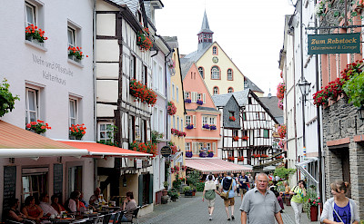 Biking through Bernkastel-Kues, Germany. Flickr:Franz-Josef Molitor