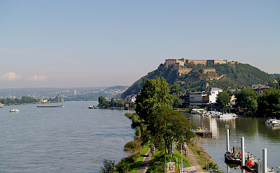 Koblenz along the Rhine River in Germany. Flickr:Filippo Diotalevi