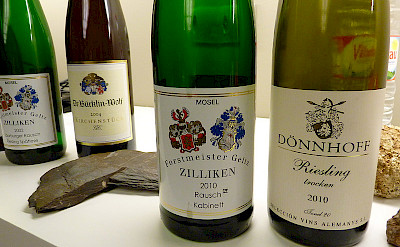 Mosel River Valley's most famous wine:Riesling. Flickr:dpotera